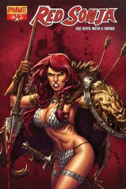 Red Sonja #34 Batista Cover 1:4 Dynamite Entertainment US Import